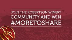 Sign up to the @RobertsonWinery community and win #MoreToShare! Beer Brewing, Home Brewing, Horse Betting, Funny Ads, Wine Time, Revolutionaries, Cold Drinks, New Books, Community