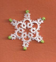 Ginny's Tatting: snowflakes