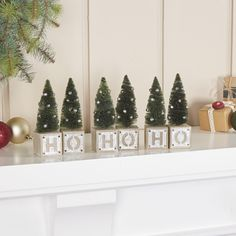 You'll love the Galvanized Holiday Ho-Ho-Ho Blocks at Birch Lane - With Great Deals on all products and Free Shipping on most stuff, even the big stuff.