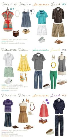 what to wear for summer pictures Summer Family Photos, Summer Pictures, Beach Pictures, Family Pictures, Clothing Photography, Photography Ideas, Family Outfits, Cute Outfits, Picture Ideas