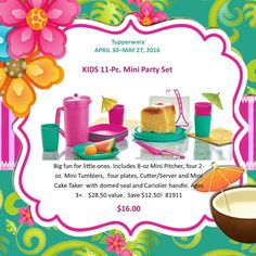 Perfect for all the little ones out there that love tea parties!   https://m.facebook.com/KatieGregg2022/