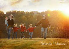 Fall family photos, Fall mini session, Amanda Valentine Photography