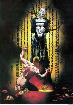 MIKE MIGNOLA Clive Barker's Hellraiser Issue - Read Clive Barker's Hellraiser Issue comic online in high quality Marvel Comics, Horror Comics, Horror Art, Comic Book Artists, Comic Artist, Comic Books Art, Cyberpunk, Dark Horse Comics, All Horror Movies