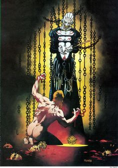 """omercifulheaves: """" Hellraiser by Mike Mignola """""""