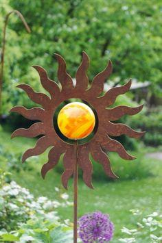 Sonne am Stab
