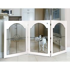 the greatest looking dog gate ever!