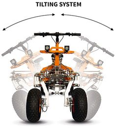 Tricycle Bike, Electric Cars, Electric Vehicle, Reverse Trike, Outdoor Gadgets, Four Wheel Drive, Bicycle Design, Cycling Bikes, Quad
