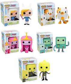 Adventure Time Funko Pop Tv Vinyl Figure Set Of 5 http://popvinyl.net #funko #funkopop #popvinyls