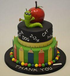 The perfect way to thank your #Teacher! #CelebrationCakes #TeacherCakes