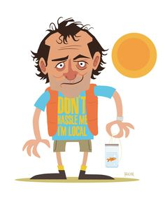 Bill Murray - What About Bob? Don't Hassle Me, I'm Local