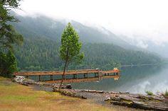 Lake Crescent ~ Olympic National Forest, Washington