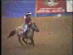 Cute little Girl Running Barrels on a little horse-Everyone needs to watch this, made me laugh so hard! Even if you don't like horses, watch!