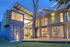 Shipping Container Architecture Around the World Photos | Architectural Digest