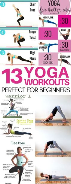 Perfect yoga for beginners workouts that have taught me the essential yoga poses! I love that their are yoga workout video ideas, yoga routines for back pain, abs, and more! Exactly what I was looking for.