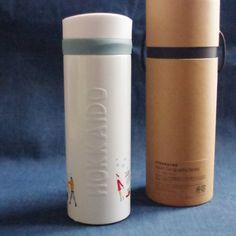 F/S New Starbucks steel stainless bottle 355ml HOKKAIDO city limited snow bear #Starbucks