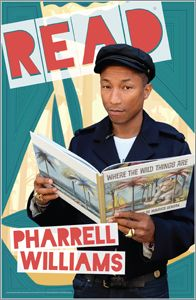 Pharrell Williams Poster - Bestsellers - Posters - Products for Young Adults - ALA Store Library Themes, Library Humor, Library Displays, I Love Books, Books To Read, Pharrell Williams Happy, Reading Pictures, Celebrities Reading, Reading Incentives