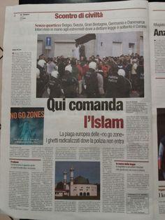 il popolo del blog,notizie,attualità,opinioni : L'ISLAM FINISCE COL COMANDARE DOVUNQUE METTA PIEDE...