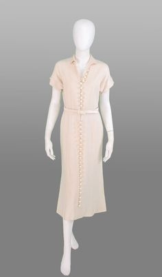 1950s California Sportswear King Made Dresses linen dress