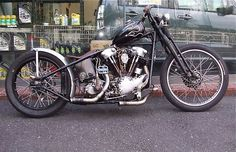 Bobber Inspiration | Knucklehead bobber | Bobbers and Custom Motorcycles | theroadyeah June 2014