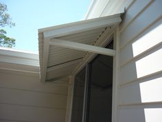 Colorbond Awning with Welded Aluminium Frane - Noosa