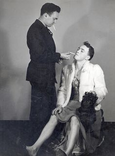 Drag. 1930s   Haresfoot Club Production by UWMadArchives, via Flickr