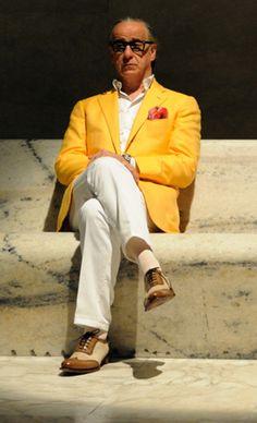 6 Great Styles From Italian Cinema - Tony Servillo in The Great Beauty
