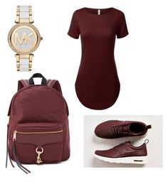 """Untitled #425"" by sophisticated-lady on Polyvore featuring NIKE, Rebecca Minkoff and Michael Kors"