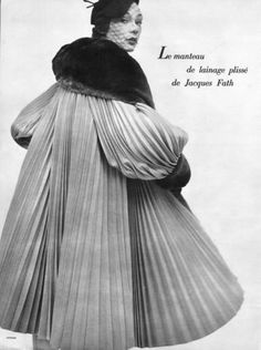 Sophie Malgat is wearing Jacques Fath 1950. | Flickr - Photo Sharing!