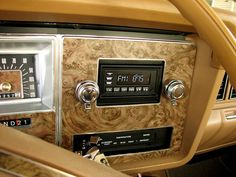 Interior of 1976 Ford Granada - my 1st car