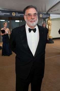 Francis Ford Coppola arrives at the 2010 Governors Award Ceremony in Hollywood to receive the Irving Thalberg Memorial Award. Irving Thalberg, Francis Ford Coppola, Academy Awards, In Hollywood, Movie Stars, Actors & Actresses, Fashion News, Cinema, Memories