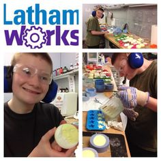 Latham Works News: Liam to the Rescue! In this week's Latham Works update, Liam helps the Voc staff complete a sizable soap order and meet a deadline.
