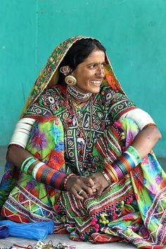 Inde - Gujarat - ગુજરાત - Village de Hodka by jmboye