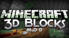 New post (Blocks 3D Mod 1.7.10/1.7.2) has been published on Blocks 3D Mod 1.7.10/1.7.2  -  Minecraft Resource Packs