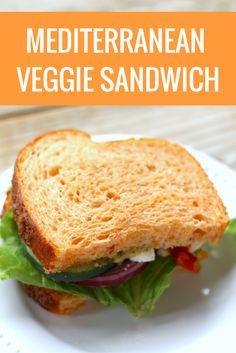 panera bread copy mediterranean veggie sandwich