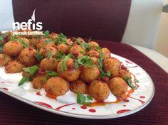 Nefis Reyhanlı Bulgur Köftesi Potato Salad, Ethnic Recipes, Sauces, Collections, Food, Beautiful, Bulgur, Meal, Essen