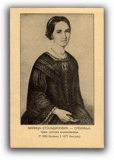 Milica Stojanović, first female Serbian book author
