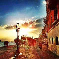 @thatjohn | Zattere sunset, Venice