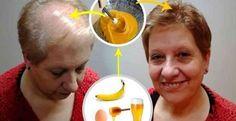 Pour faire pousser rapidement vos cheveux, réalisez cette recette maison très efficace à base de banane, de miel et de bière...