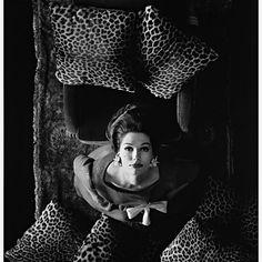 Simone D'Alliencourt for Harpers Bazaar 1960 by Melvin Sokolsky