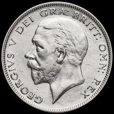 1932 George V Silver Half Crown, Scarce