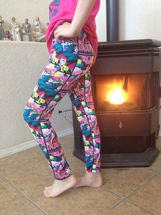Yoga pants for girl  on Etsy, $26.00