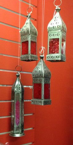 Bohemian style lanterns available at Charmed in Lynchburg, VA (434) 610-9124