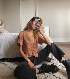 Casual autumn outfit spring outfit summer outfit style outfit inspiration … – fashion – # spring outfit outfit # casual - New Site Summer Fashion Outfits, Casual Fall Outfits, Spring Outfits, Cute Outfits, Outfit Summer, Travel Outfits, Hipster Fall Outfits, Travel Attire, Autumn Casual