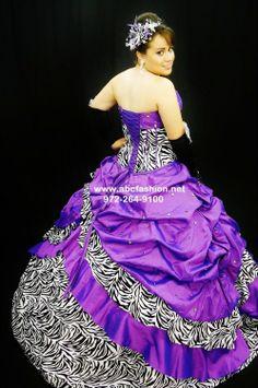 zebra quinceanera dresses   Mary's Bridal Zebra Print Quinceanera Dresses Style 4Q713 - $560