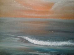 Lahinch  seascape Painting by Angela Butterfield Ireland