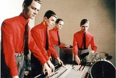 "kraftwerk - I think they were new wave before new wave existed - check out ""Autobahn"" from freaking 1974.  You're welcome."