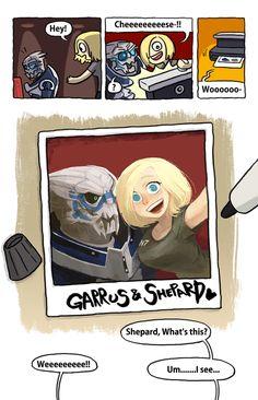 Mass Effect Shepard x Garrus