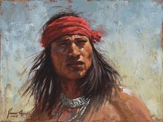 """Chiricahua Gaze"" – Apache ~ by James Ayers"