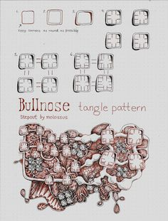 Life Imitates Doodles: New Tangle Pattern Bullnose & Zentangle® Renaissance…