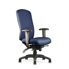 Neutral Posture N-dure High-Back Desk Chair Seat: Medium Seat, Upholstery Color: Spacer - Ink